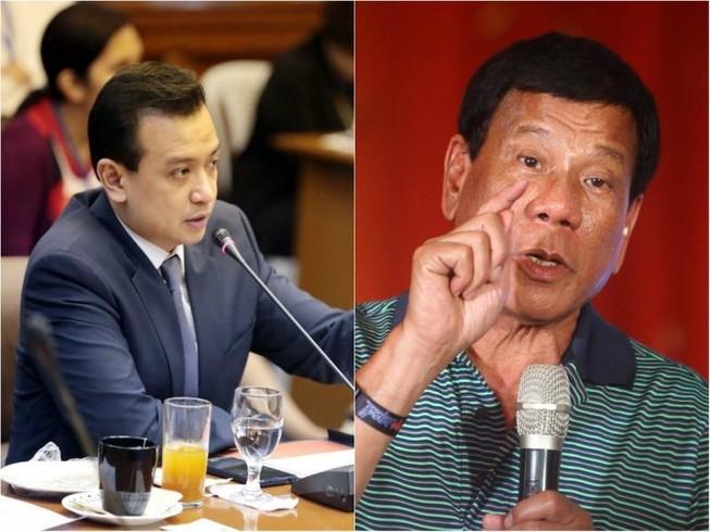 Ông Duterte thề từ chức nếu có quỹ đen 48 triệu USD