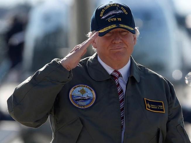 Trump: 'Mỹ không có lựa chọn ngoài tăng cường quân sự'