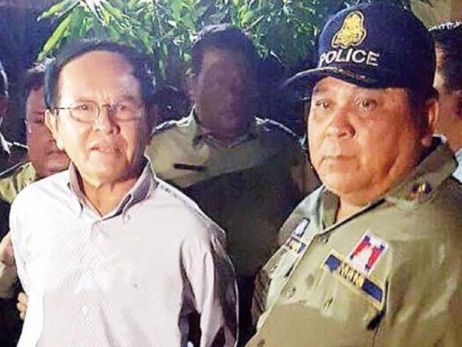 Lãnh đạo đối lập Campuchia bị buộc tội phản quốc