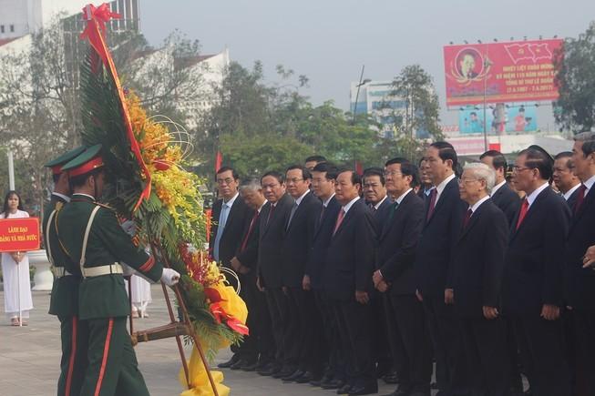 Kỷ niệm 110 năm ngày sinh cố Tổng Bí thư Lê Duẩn