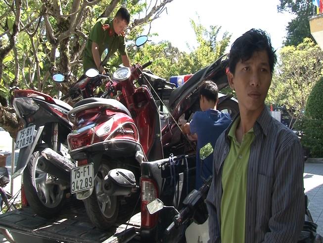 Từ TP.HCM ra Huế tạm trú để trộm xe máy