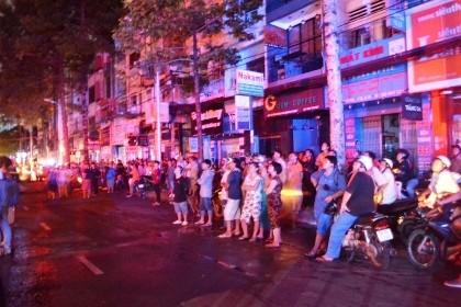 Cháy tiệm ảnh cưới ở trung tâm Sài Gòn