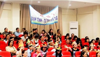 Hàng trăm nữ tiểu thương tham gia hội thi 'Phụ nữ và pháp luật'
