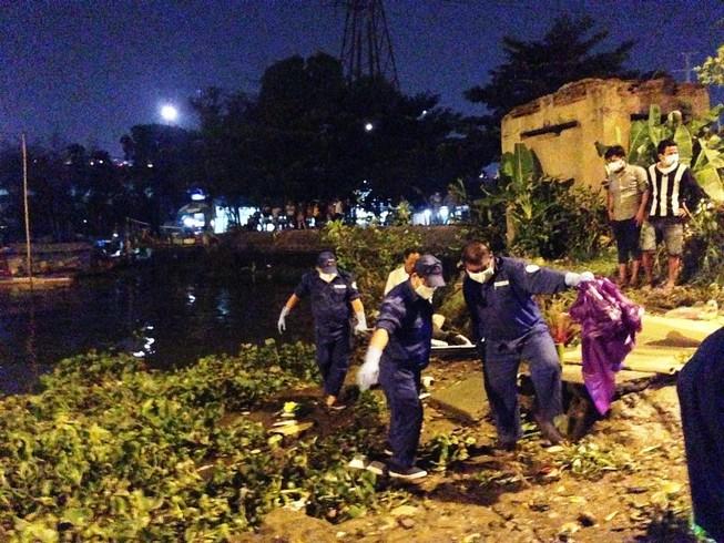 Phát hiện thi thể nam thanh niên nổi trên sông Sài Gòn