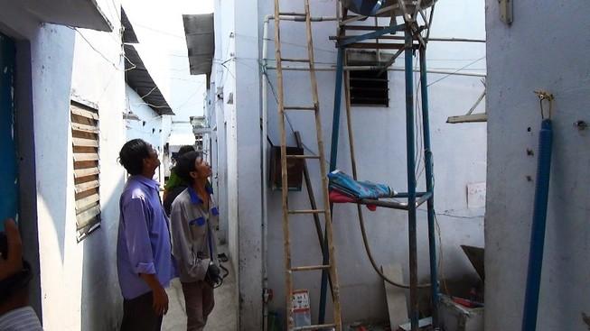 Sửa bồn nước, chủ nhà trọ bị điện giật tử vong