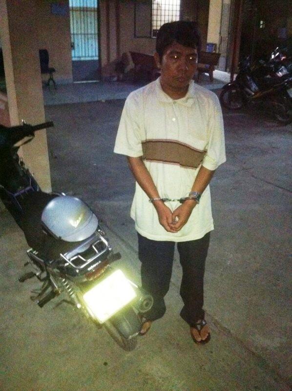 Cảnh sát cơ động truy đuổi tên cướp qua nhiều tuyến phố