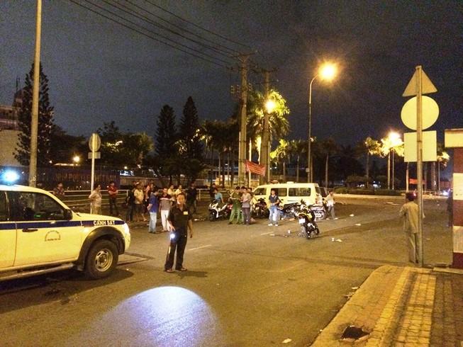 Một thanh niên bị đâm chết giữa Sài Gòn sau cú quẹt xe