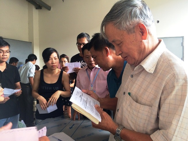 Chung cư Harmona tổ chức hội nghị bất thường