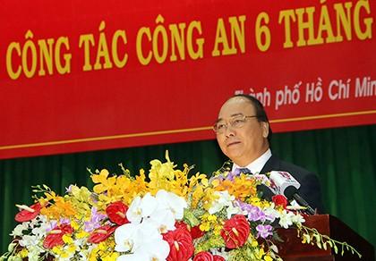 Thủ tướng yêu cầu ngành công an đánh mạnh vào tội phạm