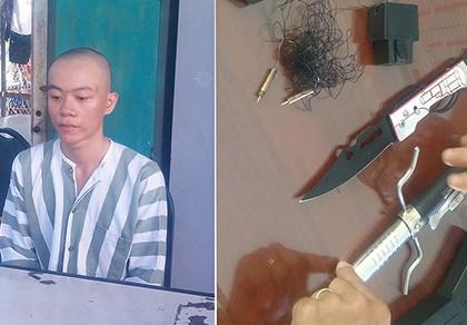 Nam thanh niên mua dao, súng điện để cướp xe Su 'xì po'