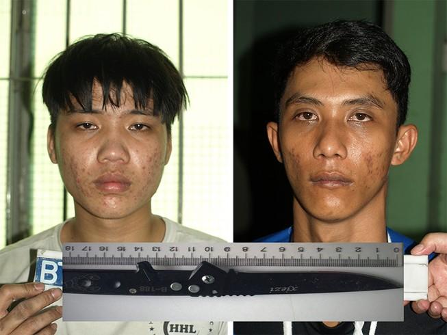 Mâu thuẫn khi nhậu, 2 nam thanh niên bị đâm