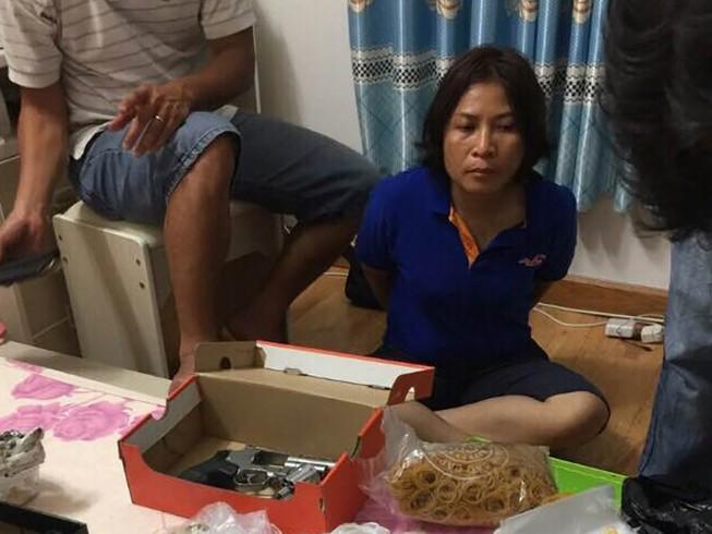 Người đàn bà thủ súng, heroin tại khách sạn ở TP.HCM