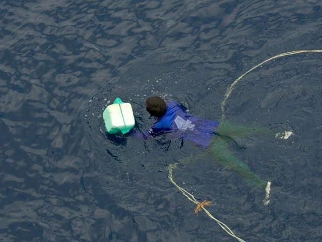 Thuyền viên 4 ngày mất tích trên biển được tàu Pháp cứu