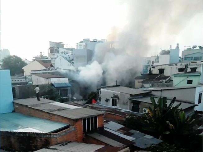 Nam thanh niên chết thảm trong căn nhà cháy