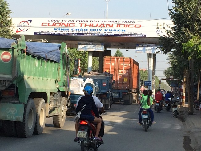Đồng Nai: Hai trạm thu phí sẽ miễn phí trong dịp Tết