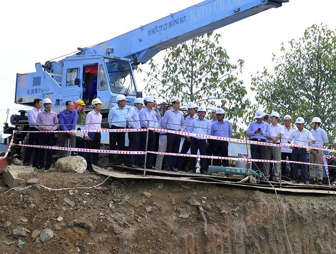 Ngày 30-5 sẽ hoàn thành mố cầu Ghềnh mới