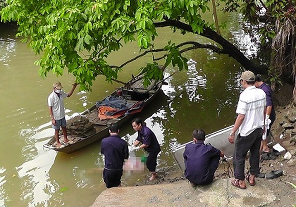 Người mất tích sau cuộc nhậu được phát hiện nổi trên sông