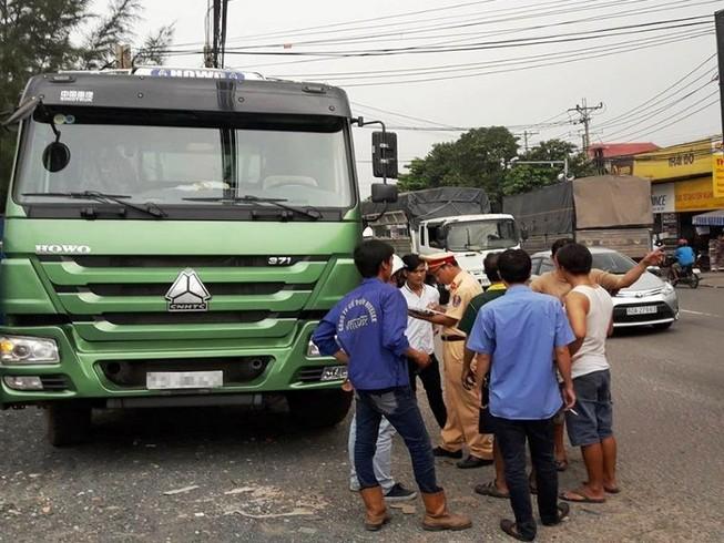 Nghi án tài xế xe tải bị đánh, cướp