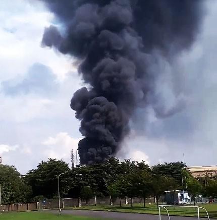 Cháy trong Công ty Vedan