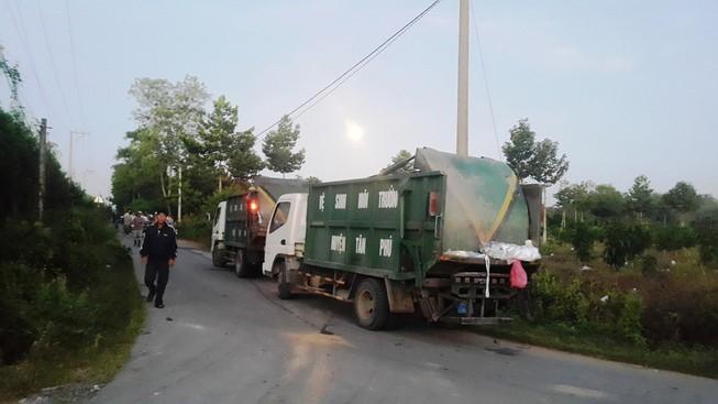 Đồng Nai: Người dân chặn xe chở rác vào nhà máy