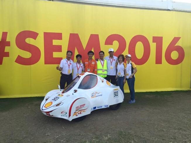 Việt Nam tiếp tục vô địch sáng chế xe tiết kiệm nhiên liệu châu Á