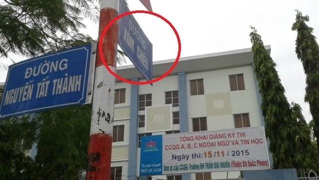 Tấm biển chỉ đường 'kỳ cục'