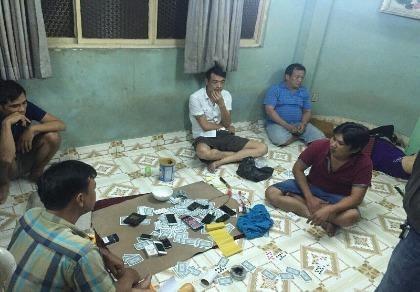 'Thu lưới' tóm gọn băng nhóm đánh bạc