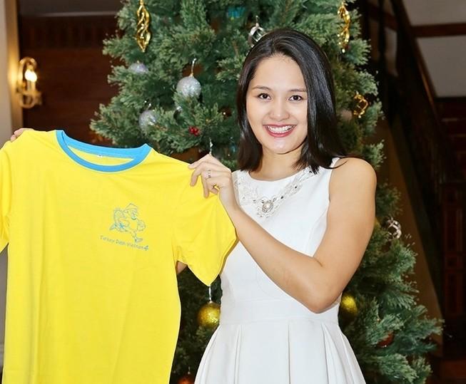 Hoa hậu Hương Giang rạng rỡ đồng hành cùng Turkey Dash