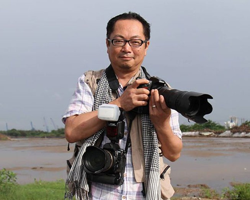 """Nhà báo Nhật triển lãm ảnh """"Cảm xúc Hoàng Sa 2014"""""""