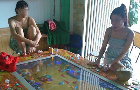 Bắt điểm chơi games bắn cá dưới hình thức cờ bạc