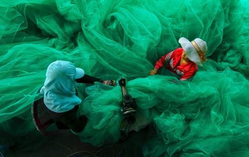 Ảnh ngư dân Ninh Thuận giành giải thưởng của Mỹ
