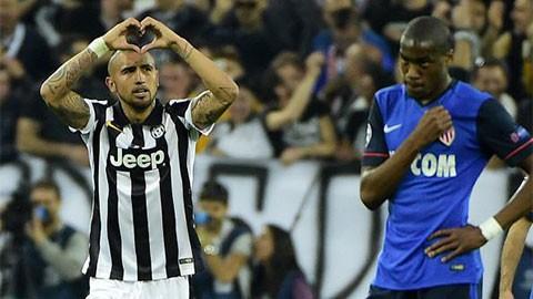 Juventus 1-0 Monaco: Đặt một chân vào bán kết