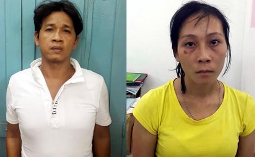 Đôi nam nữ cướp ví của du khách bị đặc nhiệm đạp ngã