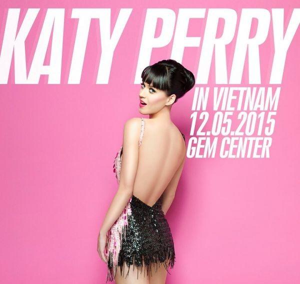 Siêu sao nhạc Pop Katy Perry sẽ đến Việt Nam