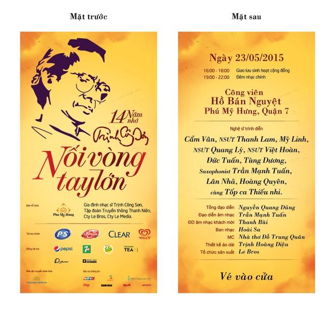 Thêm cơ hội nhận vé miễn phí xem nhạc Trịnh
