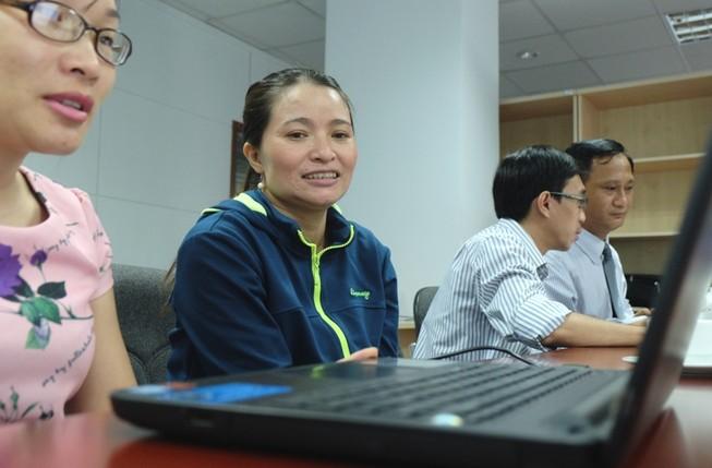 Giao lưu với chị Hồng ve chai: 'Có tiền tôi cũng không đổi nghề'