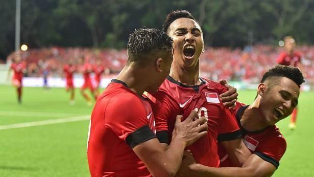 U-23 Singapore còn một ải lớn nữa