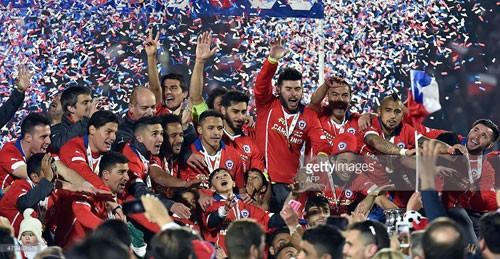 Chile 0 – 0 Argentina (pen 4-1): Chile đi vào lịch sử