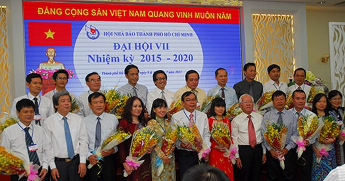 Ông Mã Diệu Cương tái đắc cử Chủ tịch Hội Nhà báo TP.HCM
