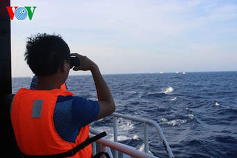 Cứu nạn 31 thuyền viên gặp nạn trên vùng biển Hoàng Sa