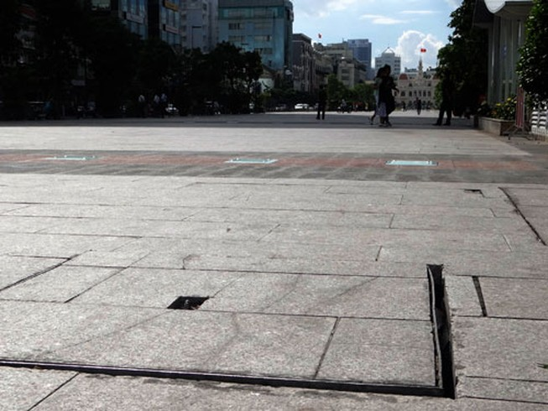 Hội Kiến trúc sư 'chê' phố đi bộ Sài Gòn
