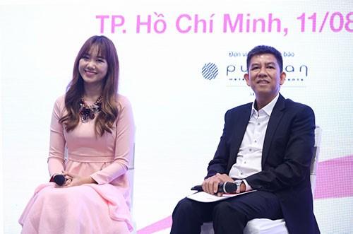Hari Won gây cười khi làm đại sứ cho phim Hàn ở Việt Nam