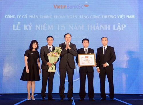 VietinBankSc - chặng đường 15 năm phát triển