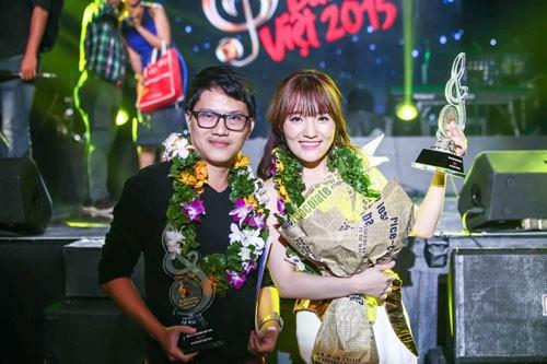 'Về với đông' giúp Nhật Thủy đoạt cú đúp Bài hát Việt