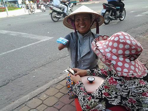 Nụ cười của Thuận 'Nick Vujicic'