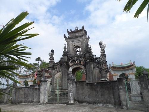 Phủ thờ hơn 400 năm của dòng họ Nguyễn Cảnh