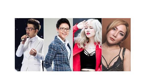 Nhiều ca sĩ The Voice góp mặt trong BHV tháng 11