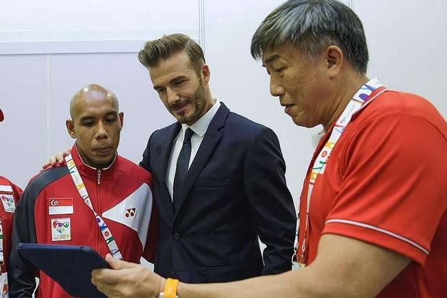 Beckham đến thăm ASEAN Para Games