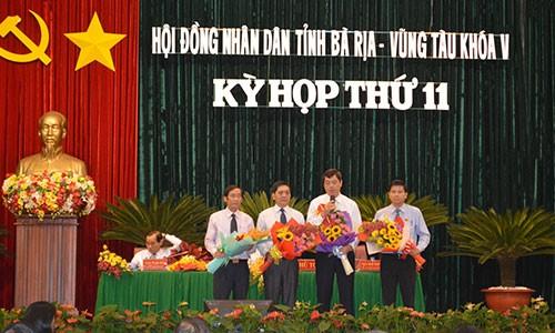 Bà Rịa-Vũng Tàu có tân Phó chủ tịch HĐND, UBND tỉnh