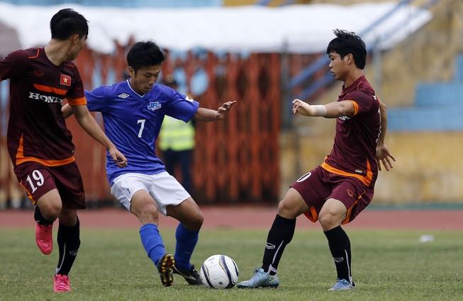 Tái đấu với JFL Selection: U-23 Việt Nam lại thua 0-1